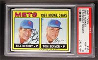 Bill Denehy, Tom Seaver [PSA 8]