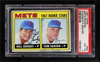 Bill Denehy, Tom Seaver [PSA 4]
