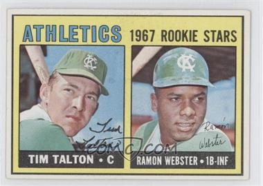 1967 Topps #603 - Tim Talton, Ray Webster
