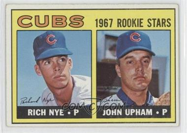 1967 Topps #608 - Rich Nye, John Upham