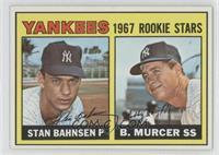 1967 Rookie Stars (Stan Bahnsen, Bobby Murcer)