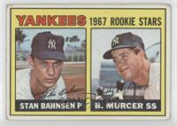 1967 Rookie Stars (Stan Bahnsen, Bobby Murcer) [Good to VG‑EX]