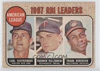 RBI Leaders (Carl Yastrzemski, Harmon Killebrew, Frank Robinson)
