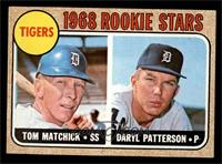 Tigers Rookie Stars (Tom Matchick, Daryl Patterson) [EX MT]