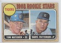 Tigers Rookie Stars (Tom Matchick, Daryl Patterson) [Poor]