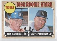 Tigers Rookie Stars (Tom Matchick, Daryl Patterson)