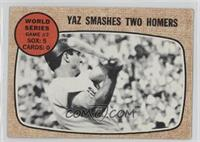 World Series Game #2 - Yaz Smashes Two Homers (Carl Yastrzemski) [Poor to&…