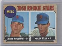 Rookie Stars (Jerry Koosman, Nolan Ryan) [Altered]
