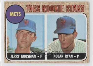 1968 Topps - [Base] #177 - Rookie Stars (Jerry Koosman, Nolan Ryan)