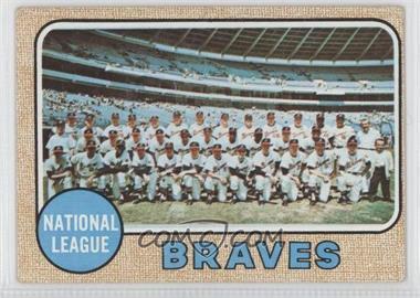 1968 Topps - [Base] #221 - Atlanta Braves Team [GoodtoVG‑EX]