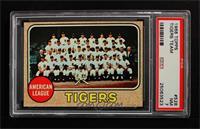 Detroit Tigers Team [PSA7]