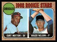 1968 Rookie Stars (Curt Motton, Roger Nelson) [NMMT]