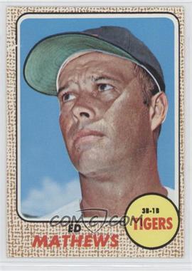1968 Topps - [Base] #58 - Eddie Mathews