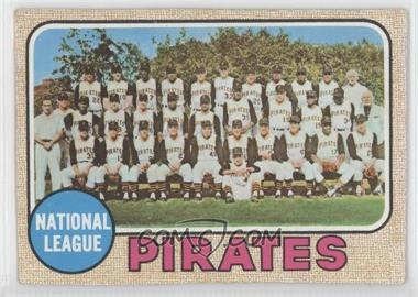 1968 Topps [???] #N/A - Pittsburgh Pirates Team [Good to VG‑EX]