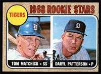 Tigers Rookie Stars (Tom Matchick, Daryl Patterson) [VG]