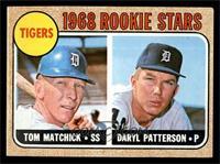Tigers Rookie Stars (Tom Matchick, Daryl Patterson) [EX]