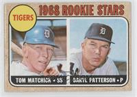 Tigers Rookie Stars (Tom Matchick, Daryl Patterson) [Good to VG&#8209…