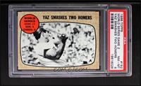 World Series Game #2 - Yaz Smashes Two Homers (Carl Yastrzemski) [PSA 8]