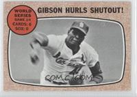 World Series Game #4 - Gibson Hurls Shutout!