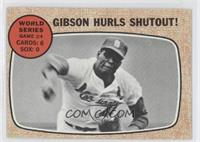 World Series Game #4 - Gibson Hurls Shutout!