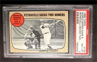World Series Game 6 (Petrocelli Socks Two Homers) [PSA 8]