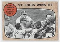 World Series Game #7 - St. Louis Wins It! [Good to VG‑EX]