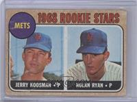 Rookie Stars (Jerry Koosman, Nolan Ryan) [Poor to Fair]