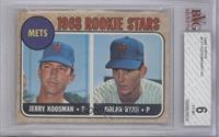 Rookie Stars (Jerry Koosman, Nolan Ryan) [BGS6]