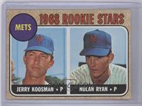 Rookie Stars (Jerry Koosman, Nolan Ryan)
