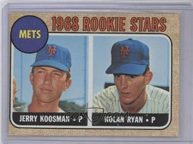 1968 Topps #177 - Rookie Stars (Jerry Koosman, Nolan Ryan) [Good to VG‑EX]