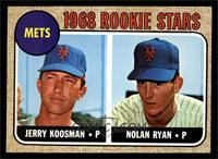 Rookie Stars (Jerry Koosman, Nolan Ryan) [NM]