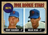 Rookie Stars (Jerry Koosman, Nolan Ryan) [EXMT]