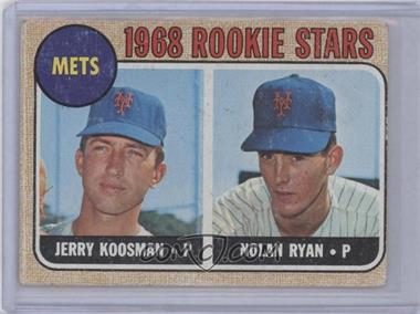 1968 Topps #177 - Rookie Stars (Jerry Koosman, Nolan Ryan) [Poor to Fair]