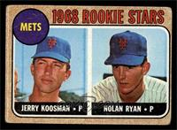 Rookie Stars (Jerry Koosman, Nolan Ryan) [GOOD]