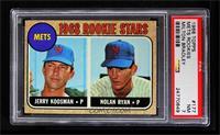 Rookie Stars (Jerry Koosman, Nolan Ryan) [PSA7]