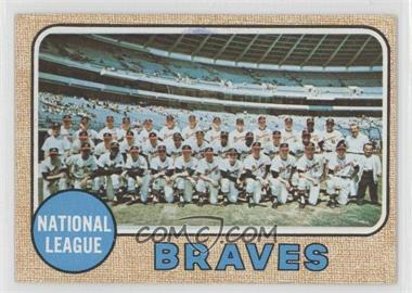 1968 Topps #221 - Atlanta Braves Team [Good to VG‑EX]