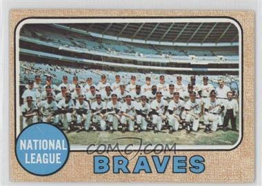 1968 Topps #221 - Atlanta Braves Team