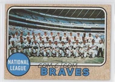 1968 Topps #221 - Atlanta Braves Team