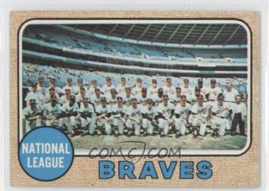 1968 Topps #221 - Atlanta Braves Team [GoodtoVG‑EX]
