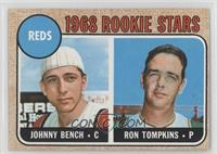 1968 Rookie Stars (Johnny Bench, Ron Tompkins)