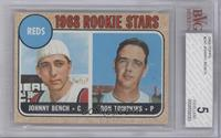 Reds Rookie Stars (Johnny Bench, Ron Tompkins) [BVG5]