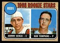 Reds Rookie Stars (Johnny Bench, Ron Tompkins) [VG EX]