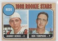 Reds Rookie Stars (Johnny Bench, Ron Tompkins)