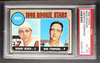 Reds Rookie Stars (Johnny Bench, Ron Tompkins) [PSA 6]