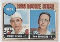 Reds Rookie Stars (Johnny Bench, Ron Tompkins) (Error