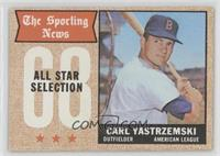 The Sporting News All Star Selection (Carl Yastrzemski) [Good to VG&#…