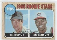 Bill Henry, Hal McRae [Good to VG‑EX]