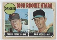 Fritz Peterson, Ron Stone, Frank Pearce