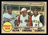 Manager's Dream (Tony Oliva, Chico Cardenas, Roberto Clemente) [EX MT]