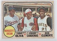 Manager's Dream (Tony Oliva, Chico Cardenas, Roberto Clemente)
